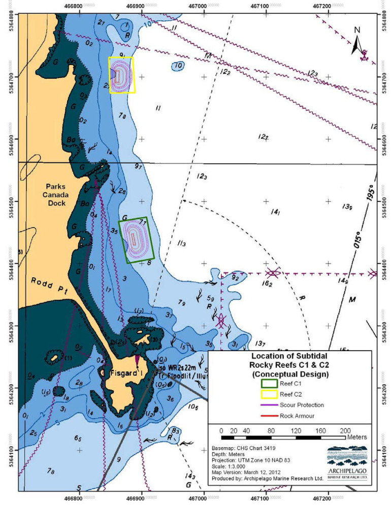 Figure 1 ESQUIMALT HARBOUR ROCKY REEF AS-BUILT SURVEY