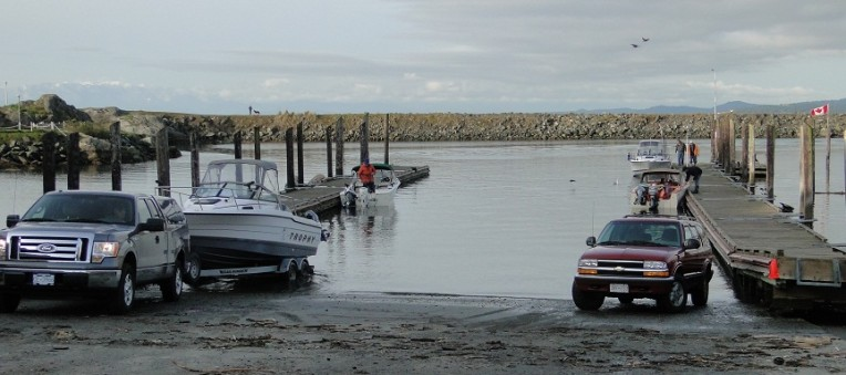 Fleming Beach Boat Launch - Esquimalt BC