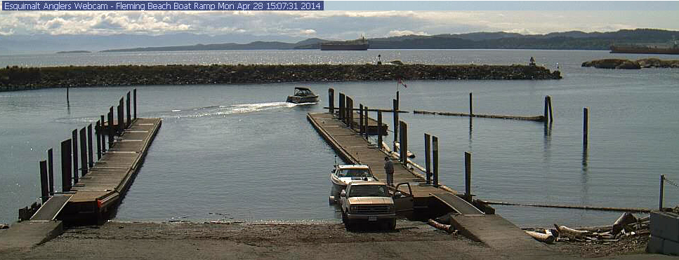Fleming Beach Boat launch - Web Cam