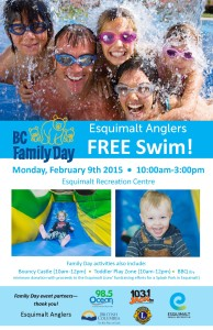 Poster_Family Day_Anglers Free Swim